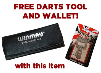 Free Darts Wallet and Tool with the Electronic Dart Scorer!