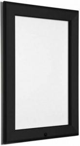 Locking Snap Frame Poster Holder - Black