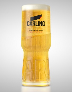 Cheap Carling Pint Glass For Sale - CE 20oz / 568ml - Box of 24