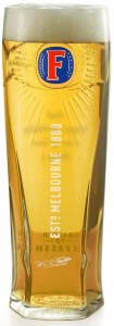 Fosters 1/2 Pint Glass (10oz) CE