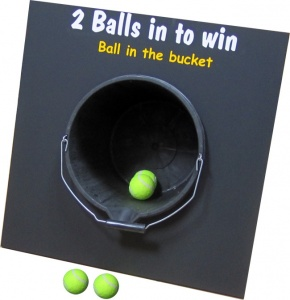 Ball In Bucket Frame