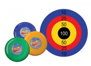 Flying Saucer Target Game