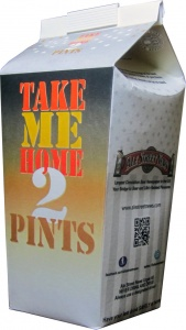 2-Pint Beer Cartons - Printed