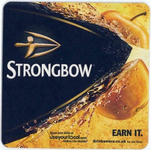 Strongbow Drip Mat (Pack of 100)