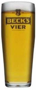 Becks Vier Glass (Box of 24)