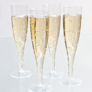 Disposable Champagne Tulip (Pack of 50)