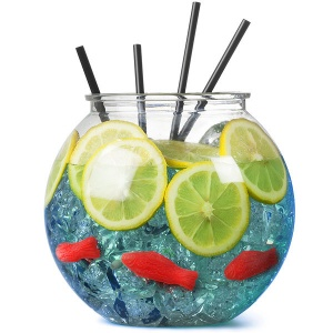 Plastic Cocktail Fish Bowl - 100oz (2.9ltrs)