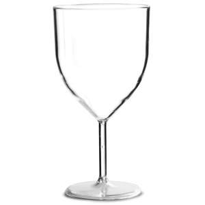 Economy Plastic Wine Glass