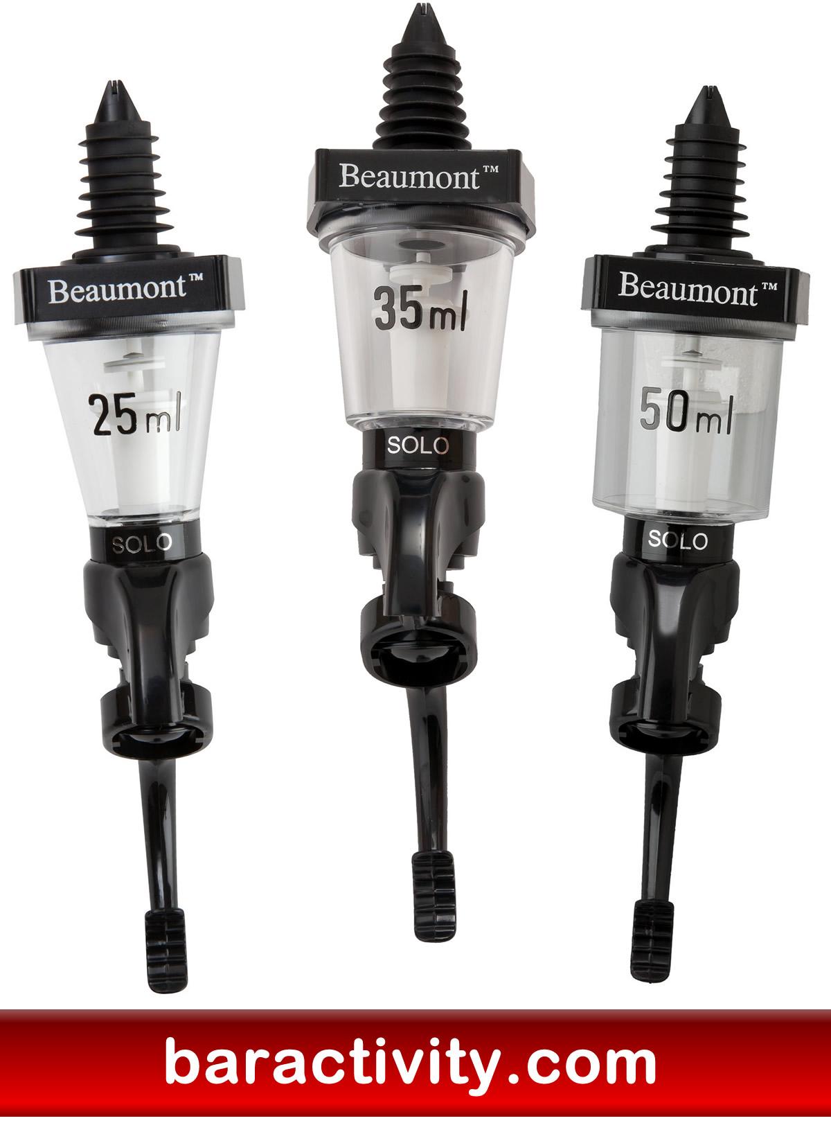 Beaumont Solo Professional Bar Optic Spirit Measure Fast