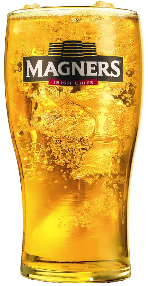 Magners Irish Cider Branded Pint Glass 20oz Ce