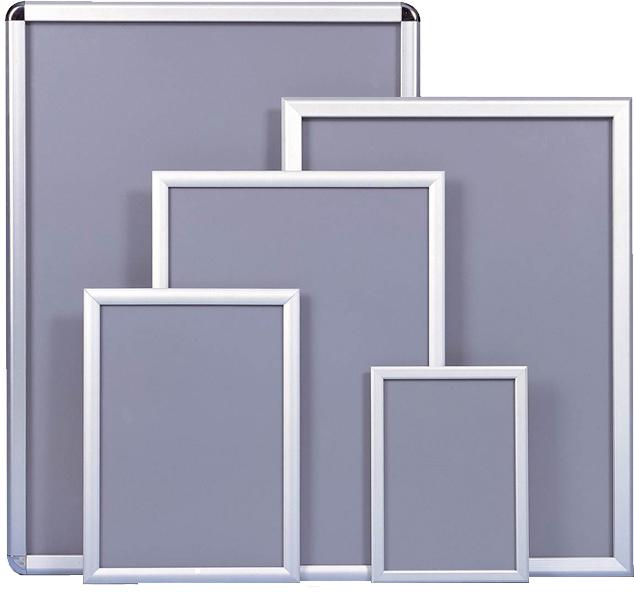 Movie poster snap frames