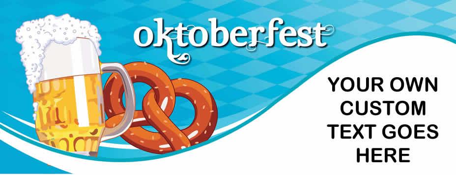 Oktoberfest Pvc Banner Price Drop