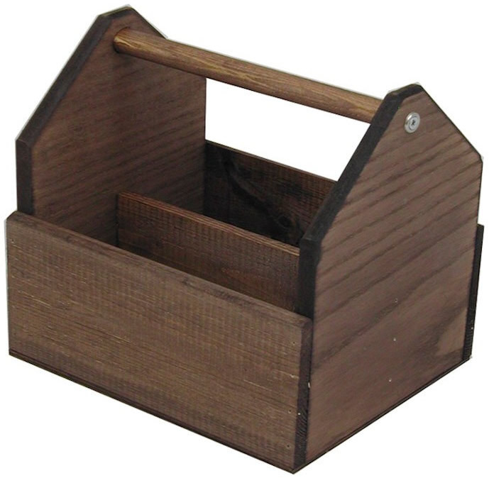 Wooden Table Tidy Condiment Holder PRICE DROP - Condiment holder for table