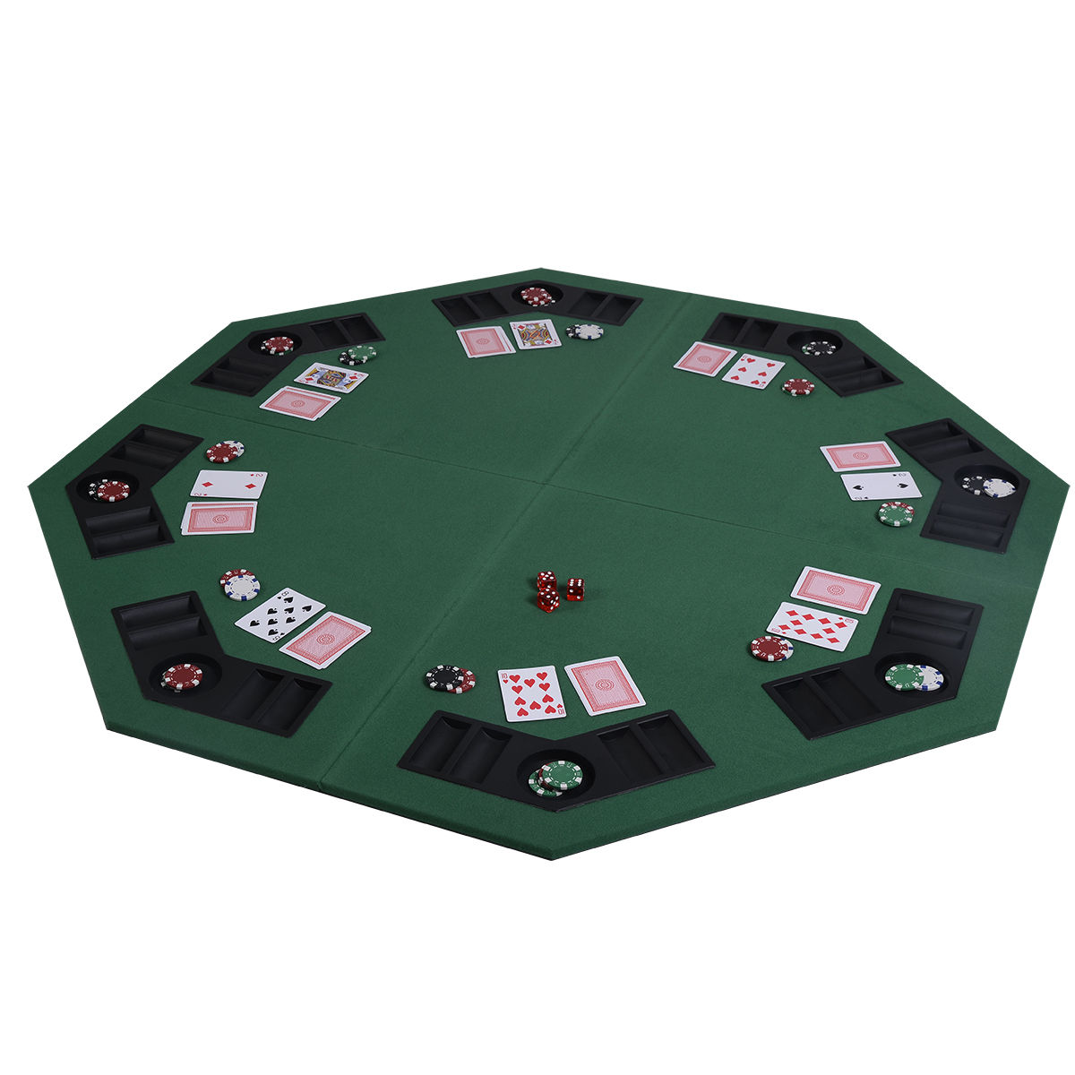 8 seater poker table top for 10 person poker table top