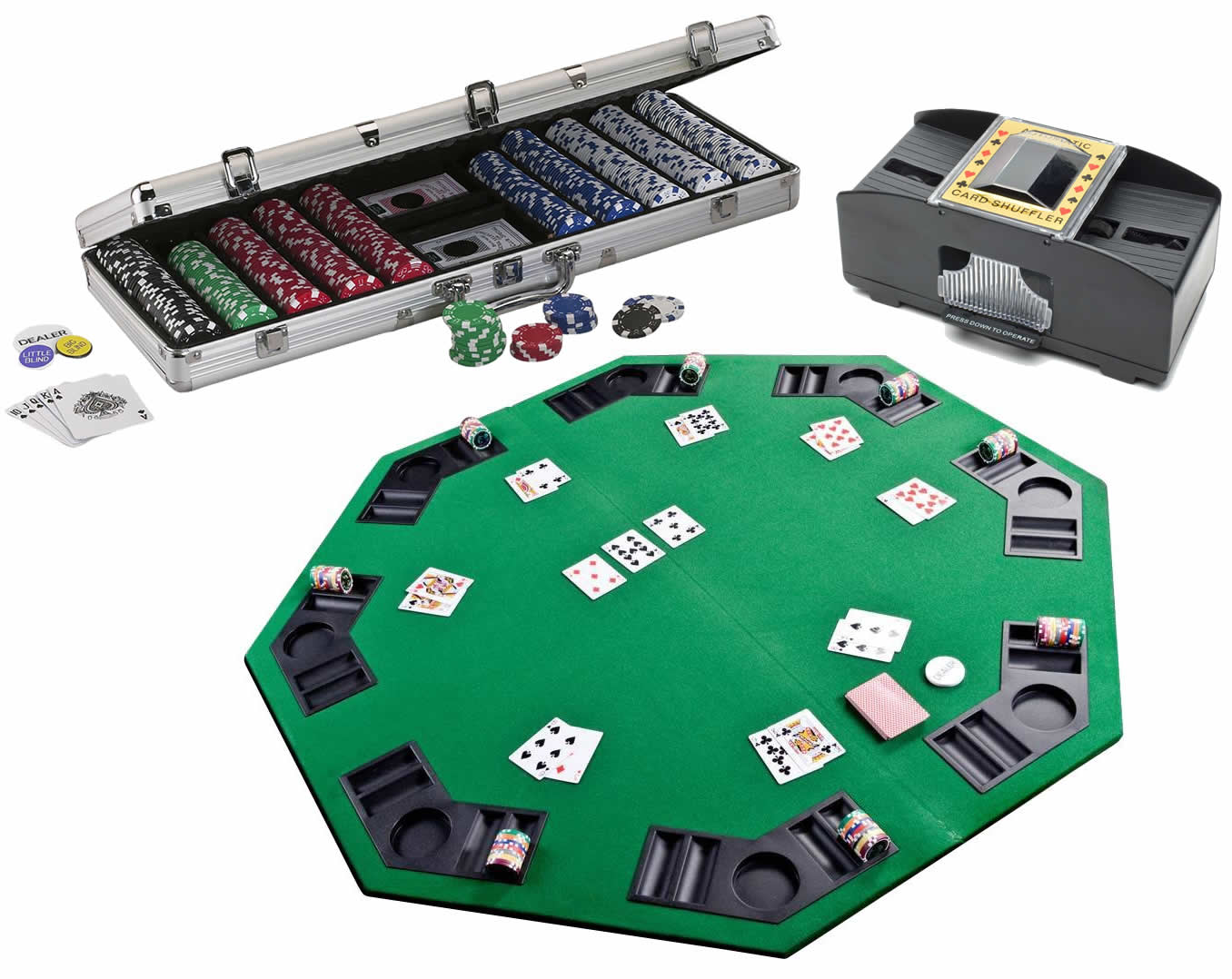Bar Activity Deluxe Poker Set