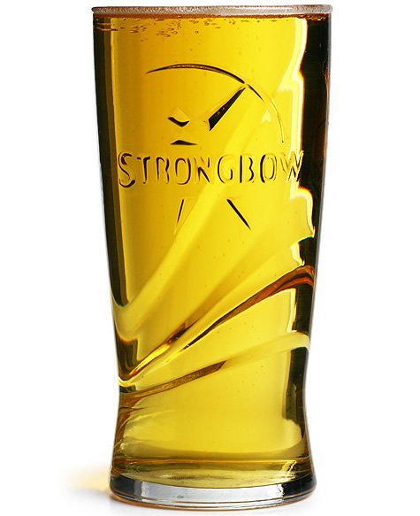 Strongbow Glass Box Of 24
