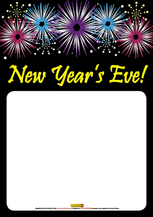 New Year\'s Eve Poster 2