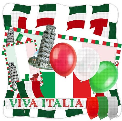 Italian Themed Party Decoration