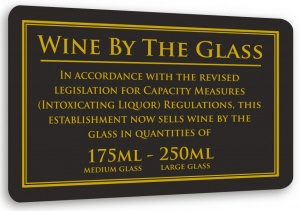 Wine By The Glass - 175ml & 250ml
