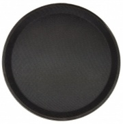 11'' Non Slip Round Bar Tray