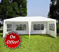 20ft Garden Party Tent Marquee