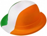 Irish Flag Plastic Bowler (12pk)