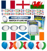 Six Nations Bar Decoration Pack