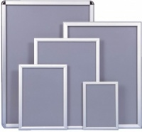 Snap Frame Poster Holder - Silver