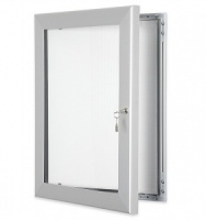 External Locking Display Case (Silver)