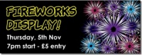 Firework Night Banner