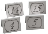 Table Numbers - Tent Shaped