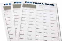 Pick A Team Football Cards