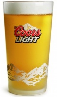 Coors Light Glass (Box of 24)