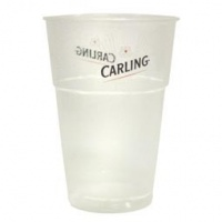 Disposable Carling Pint (Box of 100)