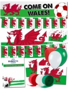 Welsh Euro 2016 Supporters Pack