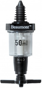 Beaumont Classical Solo 50ml Bar Optic Spirit Measure Dispenser for sale with fast UK Delivery