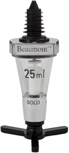 Chrome Optic Spirit Measure Dispenser by Beaumont for sale with fast UK Delivery