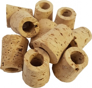 Pack of 10 Replacement Half Gallon Natural Optic Corks for sale with fast UK Delivery