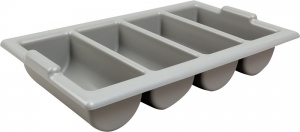 Large Heavy Duty Plastic Commercial Restaurant Cutlery Tray for sale with fast UK Delivery.