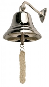 4'' Chrome Effect Last Orders Ship Bell