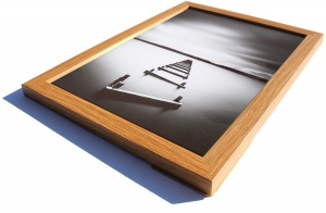 A3 Oak Effect Picture Frame