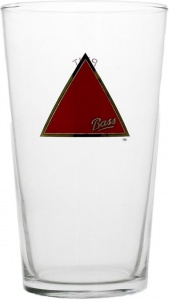 Bass Ale Branded Pint Glass For Sale UK - CE 20oz / 570ml - Box of 24