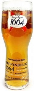 Kronenbourg 1664 Pint Glass (20oz) CE