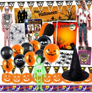 Halloween Party Event Decorations and Props Pack