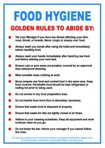 Food Hygiene Notice