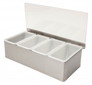Condiment Holder - Stainless Steel
