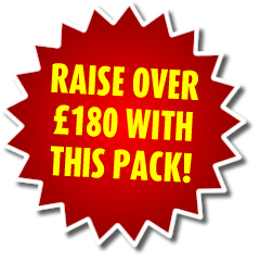 Raise over £180 with this Free Bar Fundraiser Pack!