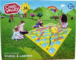 Giant Outdoor Snakes & Ladders