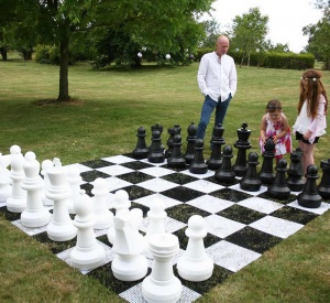 Giant Chess Pieces