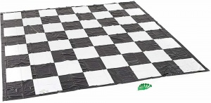 Giant Chess and Draughts Mat (3m)